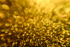 Lights Background, Abstract Blurred Light, Yellow Defocused Bokeh Royalty Free Stock Image