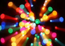 Lights Background. Background of Christmas tree lights Stock Photos