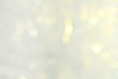 Lights background, close up, xmas Stock Photography