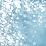Lights on blue background. Abstract texture Royalty Free Stock Photography