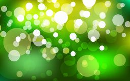 Lights on blue background bokeh effect.Vector EPS 10 illustration. Happy Easter Day.summer abstract blurred green background with bokeh effect. Spring, nature Royalty Free Stock Photo