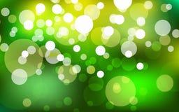 Lights on blue background bokeh effect.Vector EPS 10 illustration. Happy Easter Day.summer abstract blurred green background with bokeh effect. Spring, nature Vector Illustration