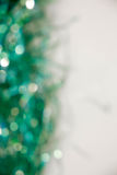 Lights on blue background. holiday bokeh. Abstract. Christmas . Festive with defocused and stars Royalty Free Stock Image