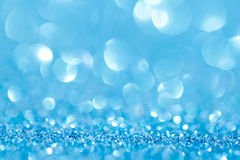 Lights on blue background. Royalty Free Stock Image
