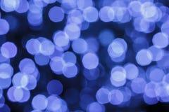 Lights and blur bokeh Stock Image