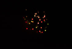 Lights with blur effect Royalty Free Stock Photography
