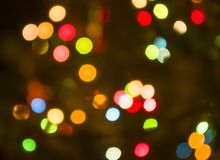 Free Lights Blurred Background Stock Image - 165471431