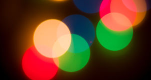 Lights blurred bokeh background Royalty Free Stock Photography