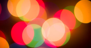 Lights blurred bokeh background Royalty Free Stock Photo