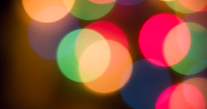 Lights blurred bokeh background Royalty Free Stock Images