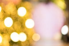Lighting blurred bokeh for background stock images