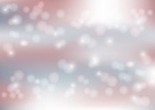 Lights On Blurred Red and Blue Bokeh Background - Vector Illustration, Graphic Design Useful For web banner, background. Bright Red and Blue Abstract Royalty Free Stock Image