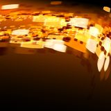 Lights on bokeh background. Lights on bright background bokeh effect Royalty Free Stock Photo
