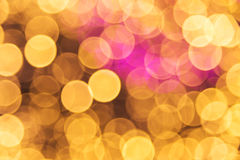 Lights bokeh background Royalty Free Stock Photos