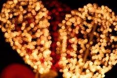 Lights bokeh Royalty Free Stock Photography
