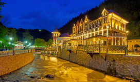The lights of Borjomi Stock Images