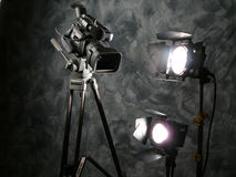 Lights, Camera, Action! stock photo
