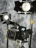 Lights, Camera, Action! stock photography