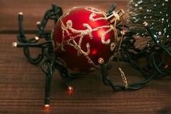 Lights of Christmas Royalty Free Stock Photography