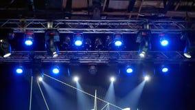 Lights concert music stock video