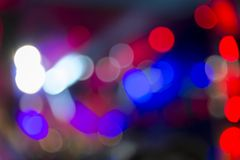 Lights at the concert at night, blurred background, image out of focus. Bright lights at the concert at night, blurred background, image out of focus royalty free stock image