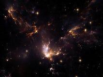 Lights of Cosmos Stock Photo