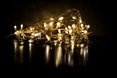 Fairy light royalty free stock photo