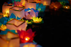Lights in darkness Royalty Free Stock Image