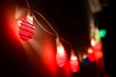 Lights. Decoration of colorful lights Stock Photography