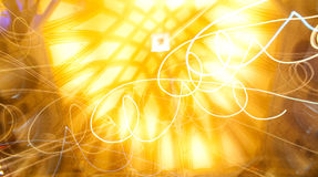 Lights effects Royalty Free Stock Images