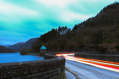 Lights in the Elan Valley Royalty Free Stock Image