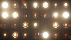 Lights Flashing VJ Loop Glow Stage