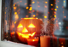 Lights of Halloween Royalty Free Stock Photography