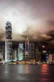 The lights of Hong Kong Royalty Free Stock Photography