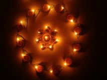 Lights. This is illumined lights on festival day Royalty Free Stock Photo