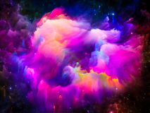 Lights of Interstellar Clouds Royalty Free Stock Images
