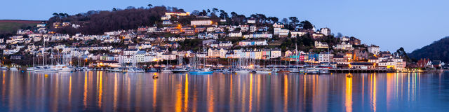 Lights of Kingswear Stock Images