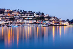 Lights of Kingswear Stock Photo