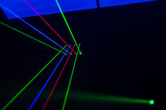 Lights Laser, lights On Stage. Lights Laser, lighting, lights On Stage Stock Photos