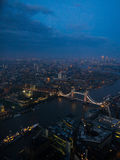 Lights of London Royalty Free Stock Photo