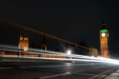 Lights of london (UK) Royalty Free Stock Photography