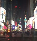 Lights of Manhattan Stock Photos