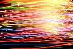 lights motion Στοκ εικόνα με δικαίωμα ελεύθερης χρήσης