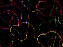 lights motion Στοκ Εικόνα
