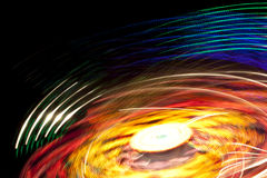 Lights motion background Royalty Free Stock Image
