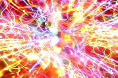 lights motion vibrant Στοκ φωτογραφία με δικαίωμα ελεύθερης χρήσης