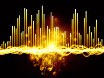 Lights of Music Royalty Free Stock Images