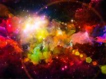 Lights of Nebula Royalty Free Stock Photos
