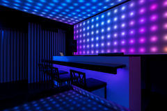 Lights in night club Stock Image
