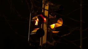 lights night traffic 4k UHD απόθεμα βίντεο